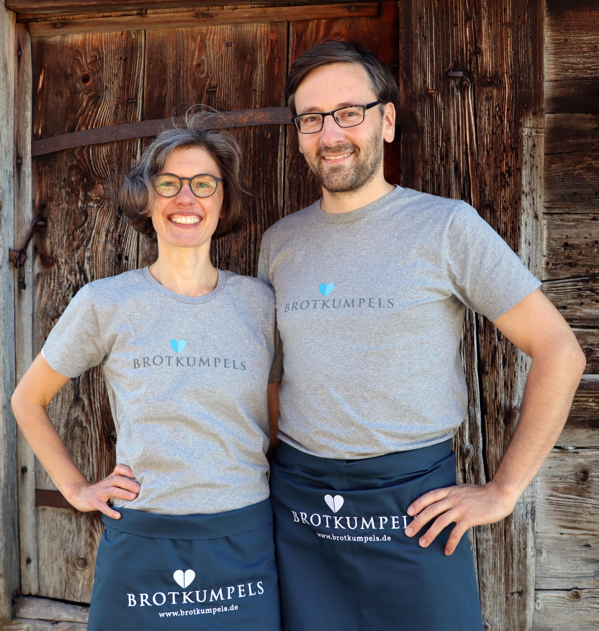 Christina Weiß und Lutz Geißler - Die Brotkumpels. (Foto: Stephan Klang)